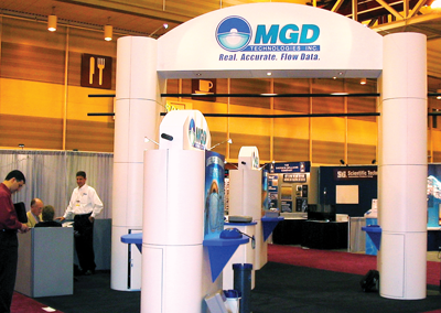 MGD Technologies Trade Show Booths