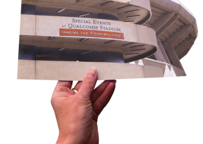 "Qualcomm (Chargers) Stadium – ""Use Stadium for Special Events"" campaign"