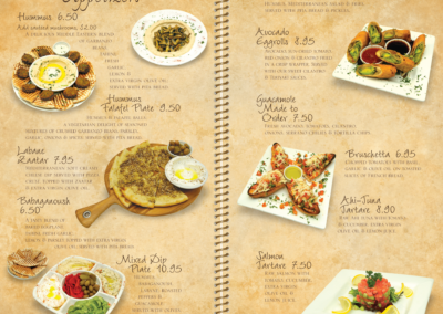 Menu Pages 1