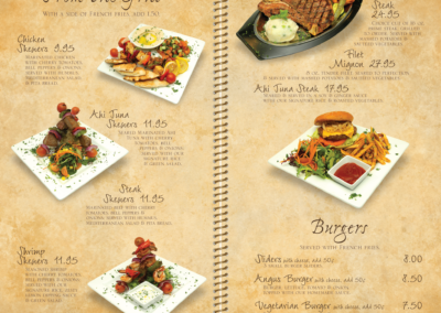 Menu Pages 3