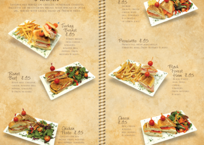 Menu Pages 6